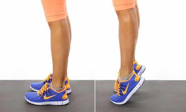 Упражнение №9. Ходим на носочках