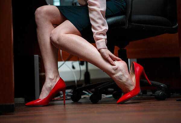 Ограничения в выборе обуви при варикозе нижних конечностей